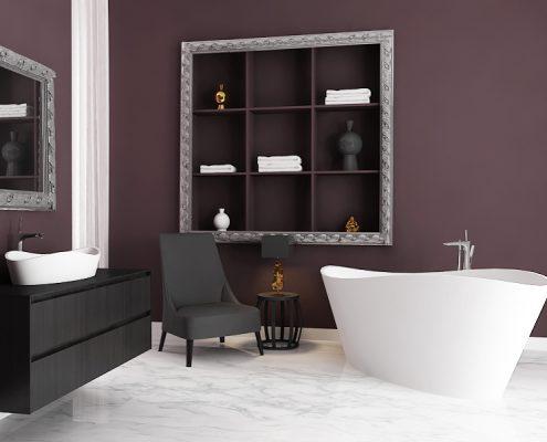 Individual design freestanding bath Luxovio