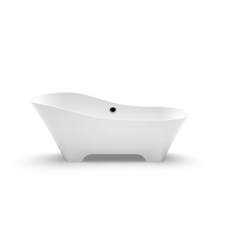 Stone cast freestanding bathtub Adeona 2 fr