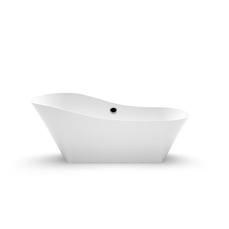Stone cast freestanding bathtub Adeona 1 fr