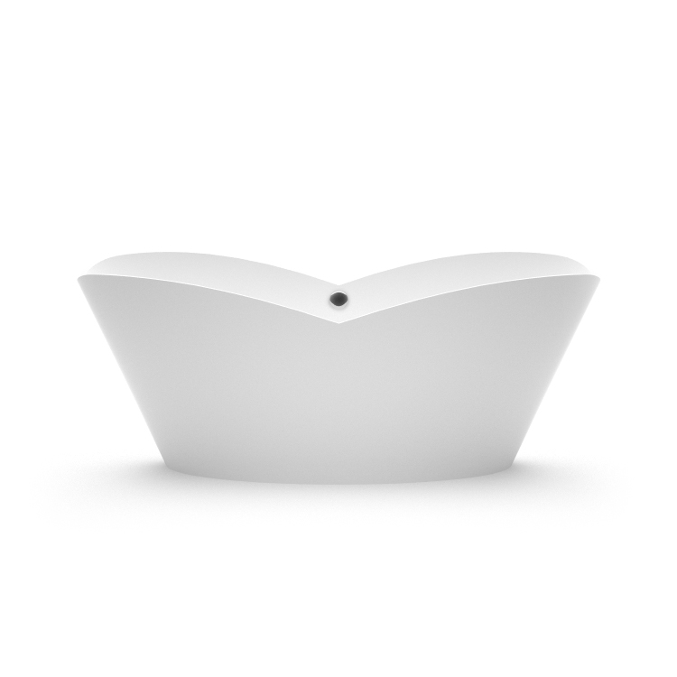 Akmens masas vanna Cupido, Ванна из каменной массы Cupido, Stone cast bathtub Cupido