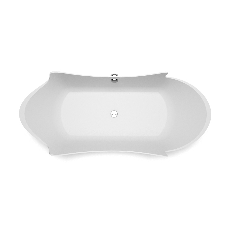 Akmens masas vanna Eracura top, Ванна из каменной массы Eracura top, Stone cast bath Eracura top