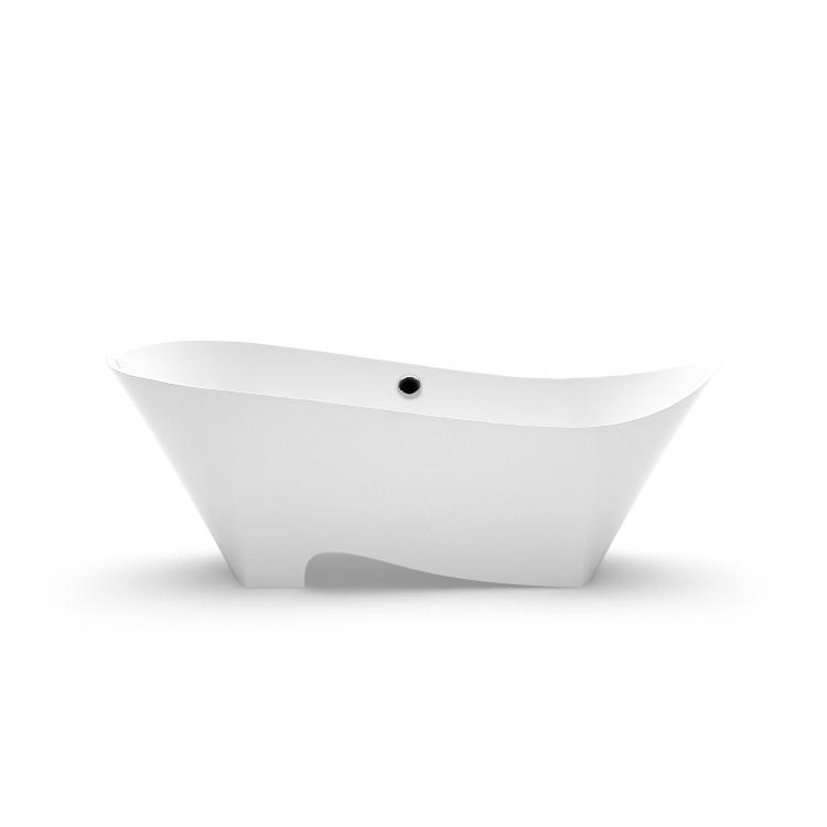 Akmens masas vanna Kami 2 fr, Ванна из каменной массы Kami 2 fr, Stone cast bathtub Kami 2 fr