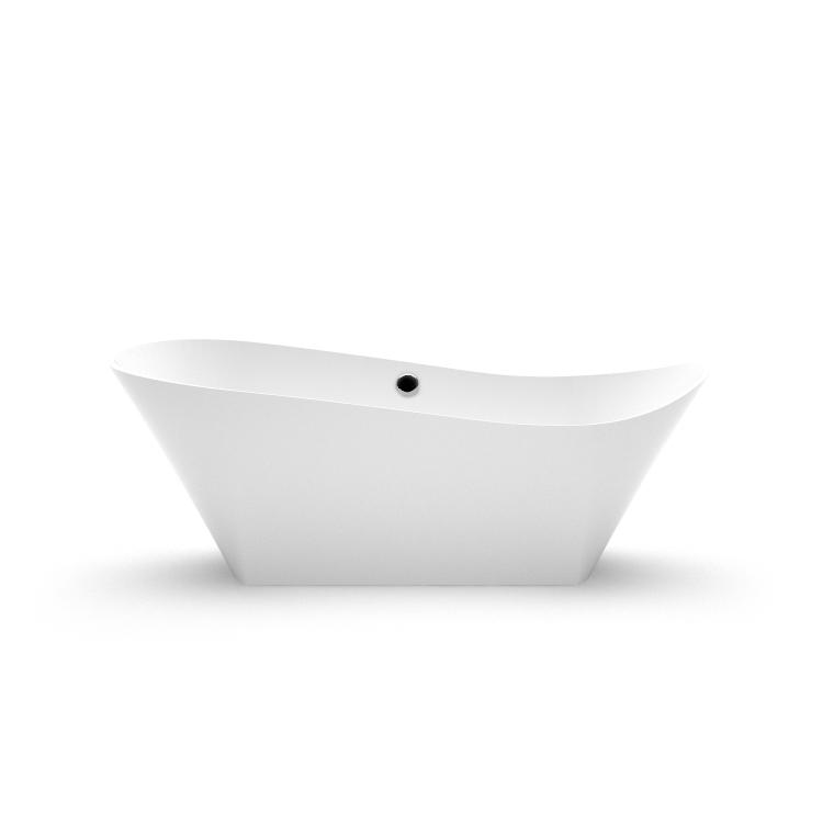 Akmens masas vanna Kami 1 fr, Ванна из каменной массы Kami 1 fr, Stone cast bathtub Kami 1 fr