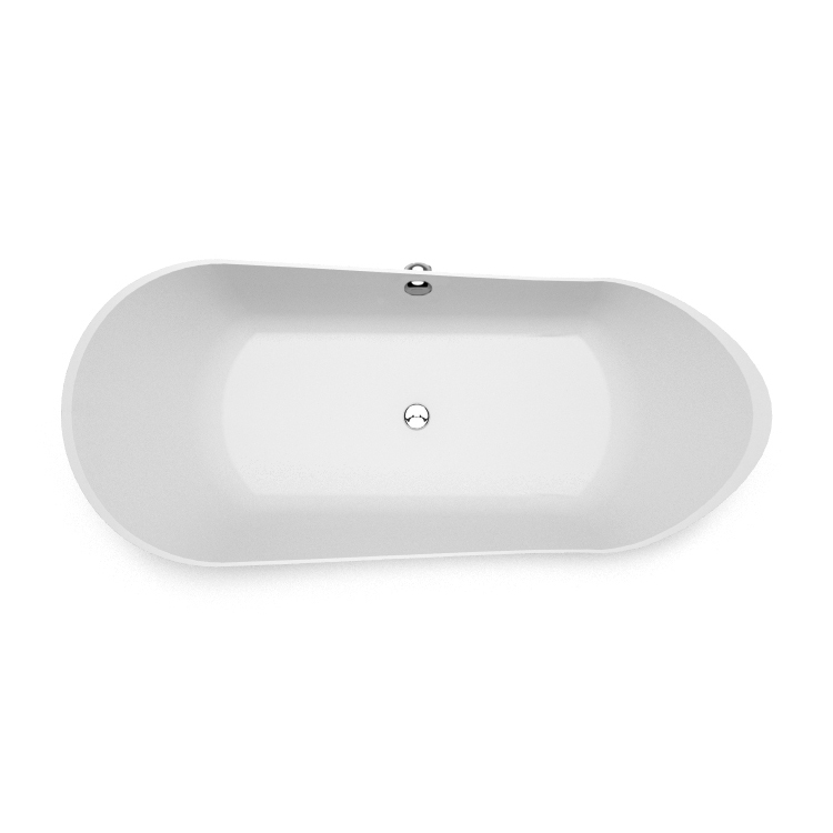 Akmens masas vanna Kami 2 top, Ванна из каменной массы Kami 2 top, Stone cast bathtub Kami 2 top