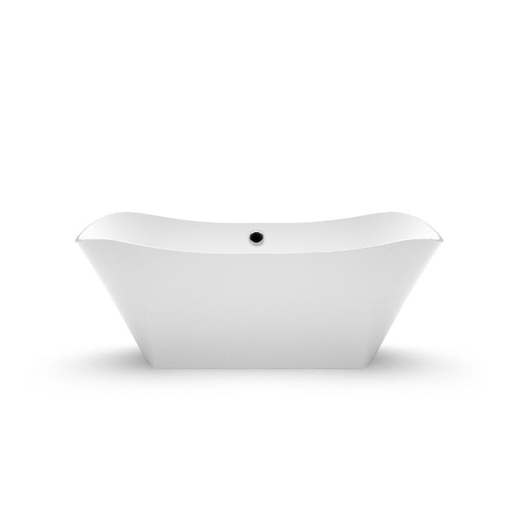 Akmens masas vanna Lante 1 fr, Ванна из каменной массы Lante 1 fr, Stone cast bath Lante 1 fr