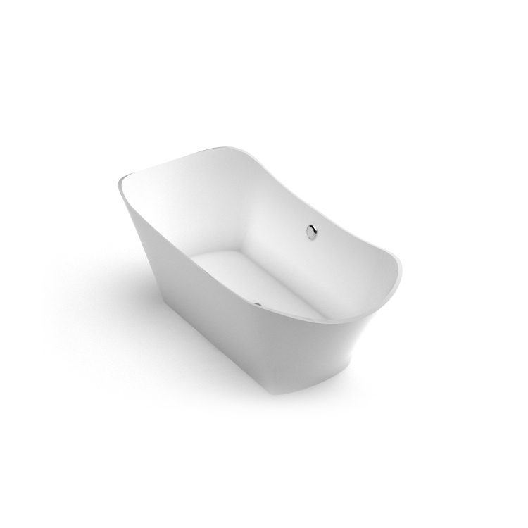 Akmens masas vanna Lante 1 iso, Ванна из каменной массы Lante 1 iso, Stone cast bath Lante 1 iso
