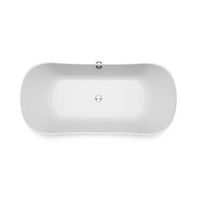Akmens masas vanna Lante 2 top, Ванна из каменной массы Lante 2 top, Stone cast bathtub Lante 2 top