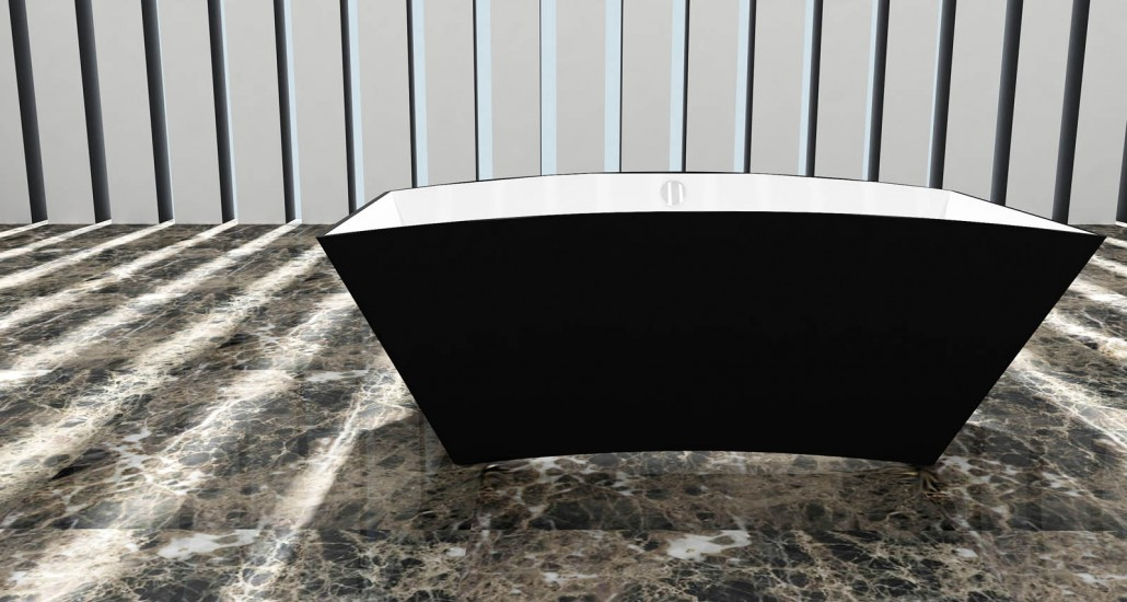 Akmens masas vanna Ondina, Ванна из каменной массы Ondina, Stone cast bathtub Ondina