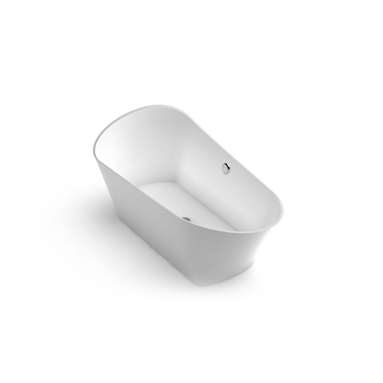 Akmens masas vanna Kleodora iso, Ванна из каменной массы Kleodora iso, Stone cast bathtub Kleodora iso