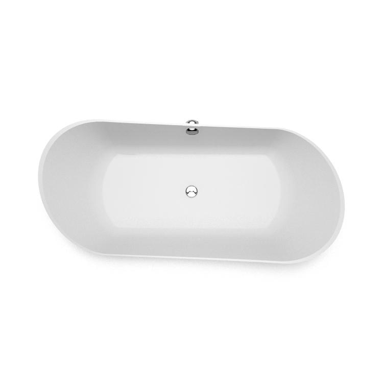 Akmens masas vanna Kleodora top, Ванна из каменной массы Kleodora top, Stone cast bathtub Kleodora top