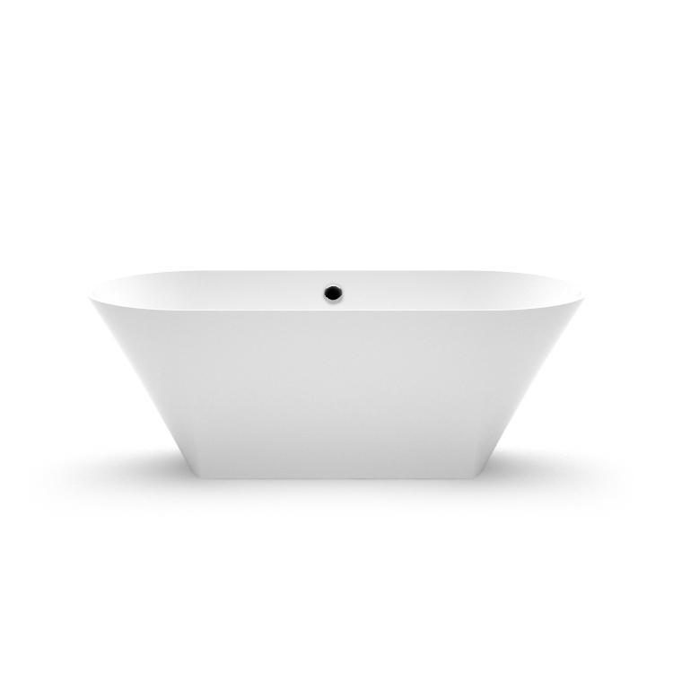 Akmens masas vanna Ornea 1 fr, Ванна из каменной массы Ornea 1 fr, Stone cast bathtub Ornea 1 fr