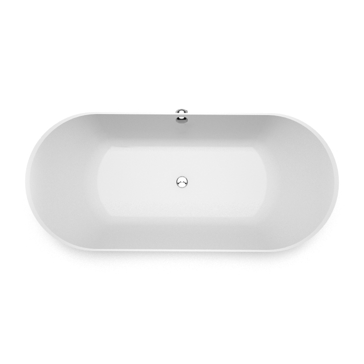 Akmens masas vanna Ornea 1 top, Ванна из каменной массы Ornea 1 top, Stone cast bathtub Ornea 1 top