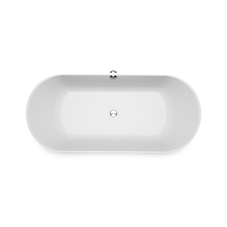 Akmens masas vanna Ornea 3 top, Ванна из каменной массы Ornea 3 top, Stone cast bathtub Ornea 3 top