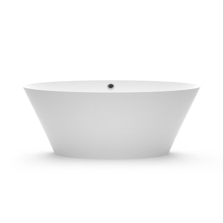 Akmens masas vanna Beira 1 fr, Ванна из каменной массы Beira 1 fr, Stone cast bathtub Beira 1 fr