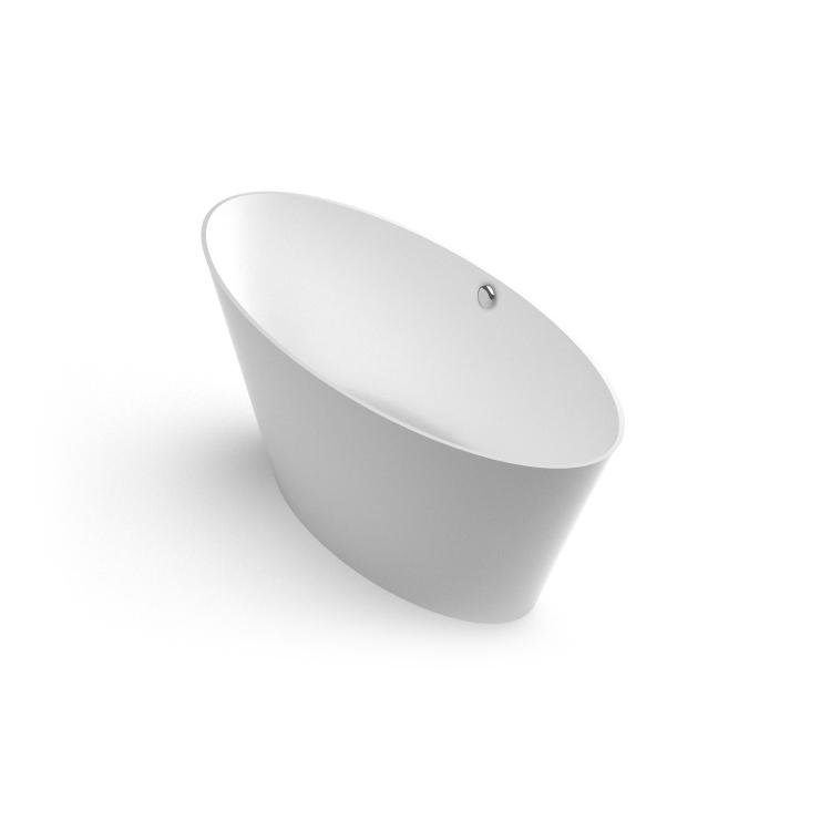 Akmens masas vanna Beira 1 iso, Ванна из каменной массы Beira 1 iso, Stone cast bathtub Beira 1 iso