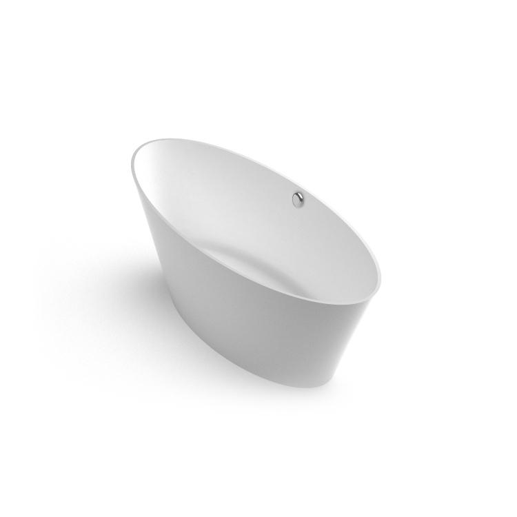 Akmens masas vanna Beira 2 iso, Ванна из каменной массы Beira 1 iso, Stone cast bathtub Beira 1iso
