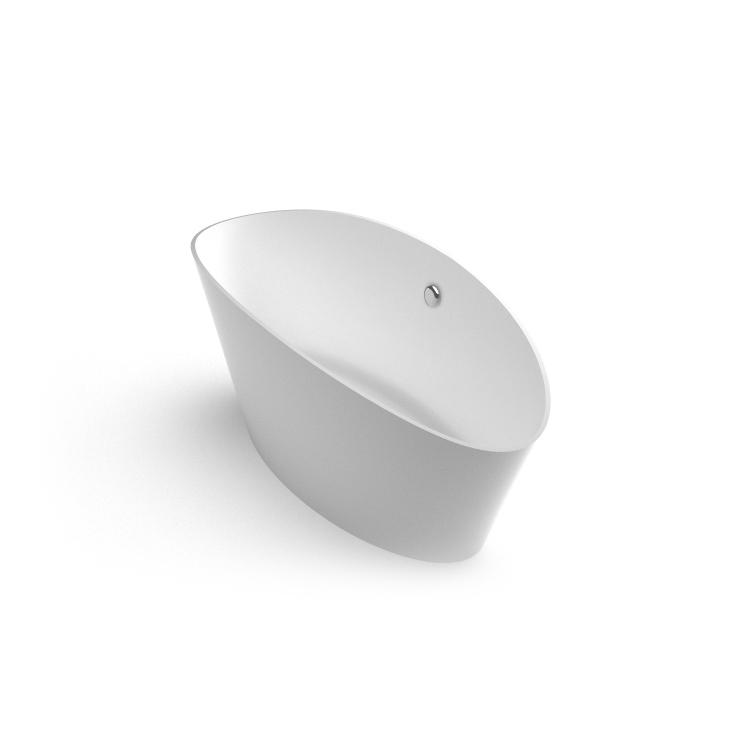 Akmens masas vanna Dione 1 iso, Ванна из каменной массы Dione 1 iso, Stone cast bathtub Dione 1 iso