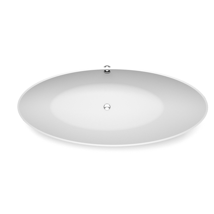 Freestanding bath Carmenta top