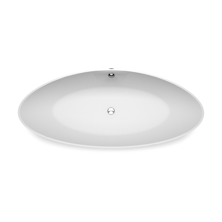 Akmens masas vanna Iris 1 top, Ванна из каменной массы Iris 1 top, Stone cast bathtub Iris 1 top