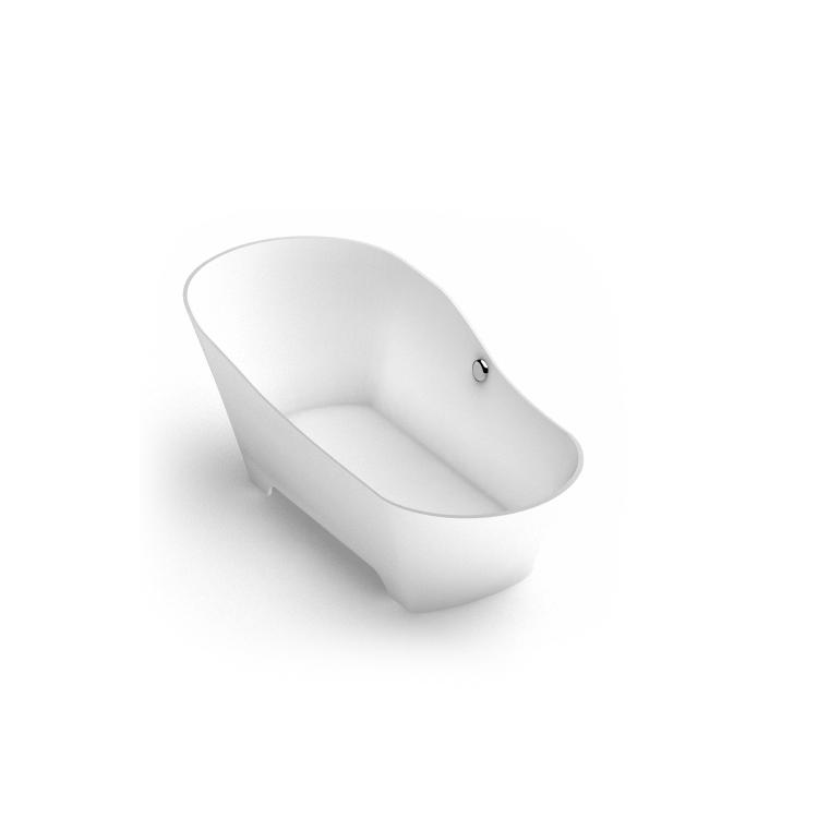 Stone cast freestanding bathtub Adeona 2 iso