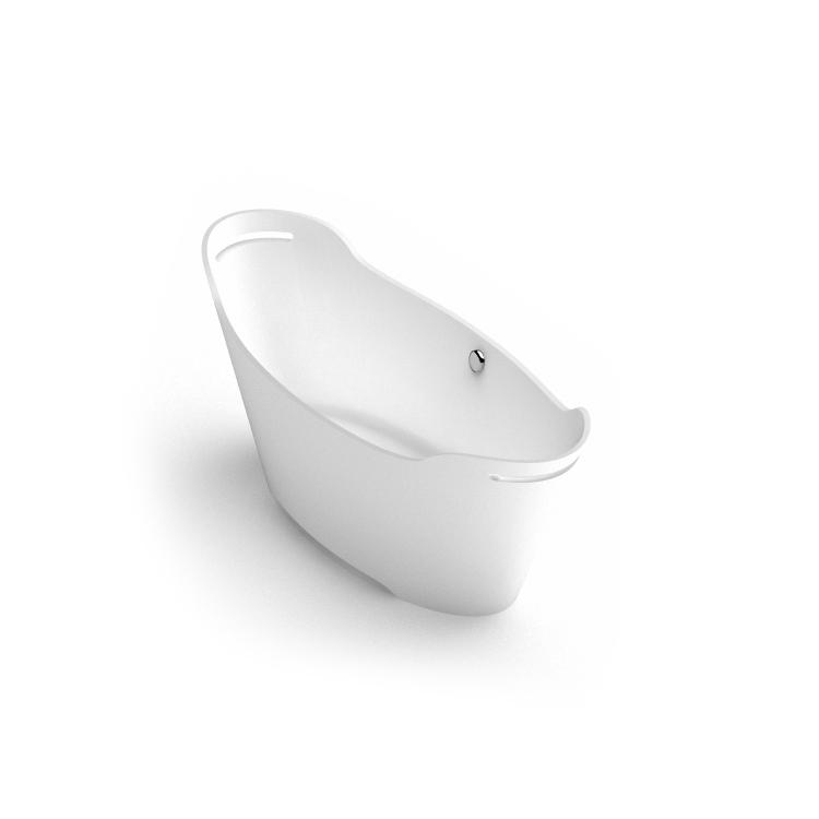 Akmens masas vanna Tiche 2 iso, Ванна из каменной массы Tiche 2 iso, Stone cast bathtub Tiche 2 iso