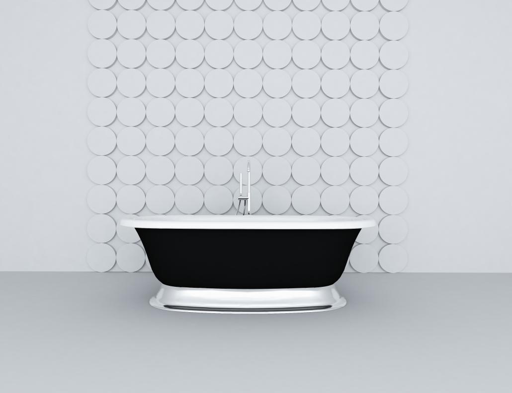 Unique Bathroom with Recanto