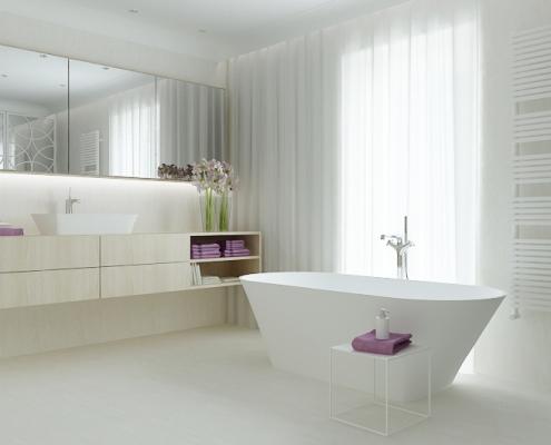 Brīvi stāvoša vanna Ornea, Freestanding bath Ornea