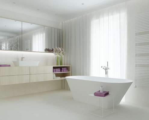 Brīvi stāvoša vanna Ornea