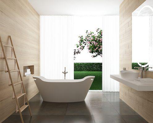 Vanna Tiche, freestanding bath Tiche 3d3