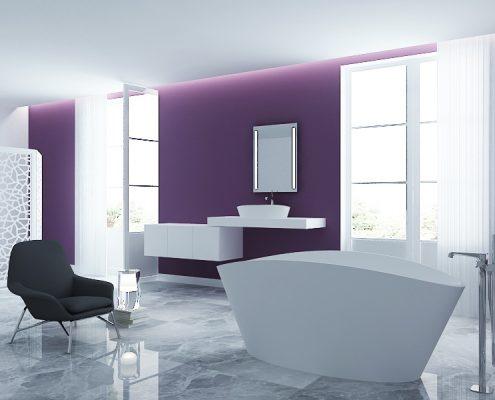 brīvi stāvoša vanna Dione