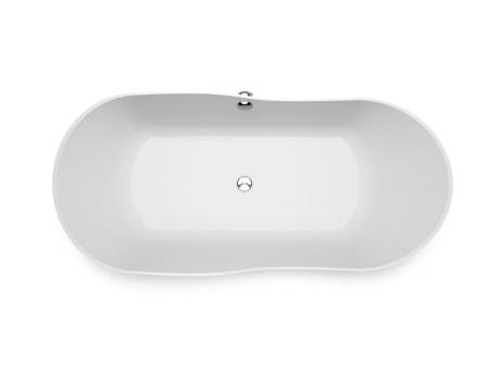 Brīvi stāvoša vanna Amida, Ванна из каменной массы Amida, Stone cast bathtub Amida