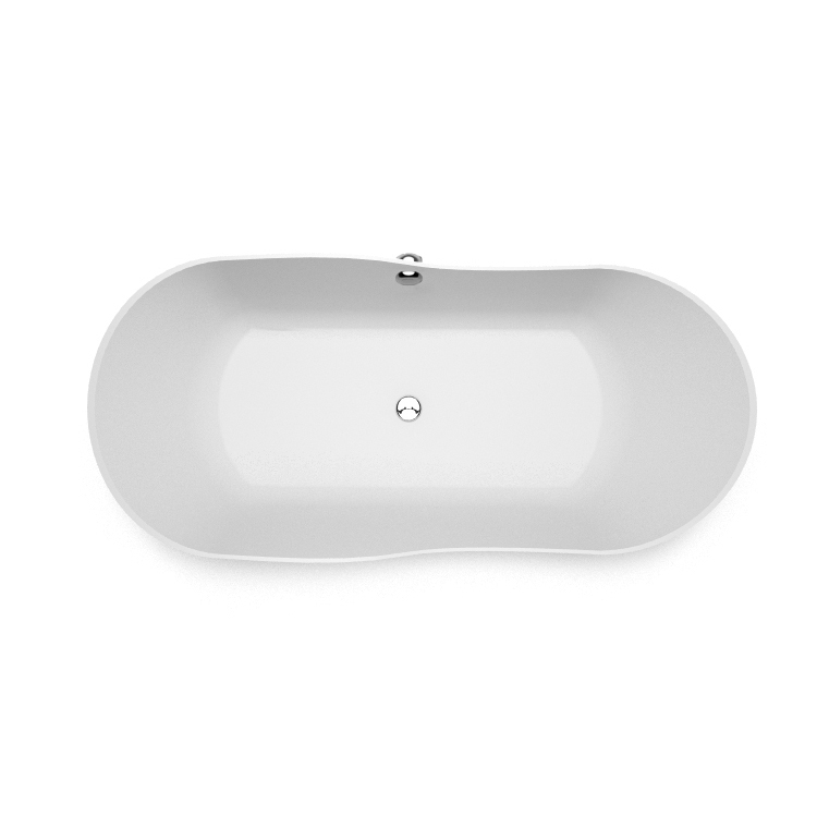 Stone cast freestanding bath Amida top