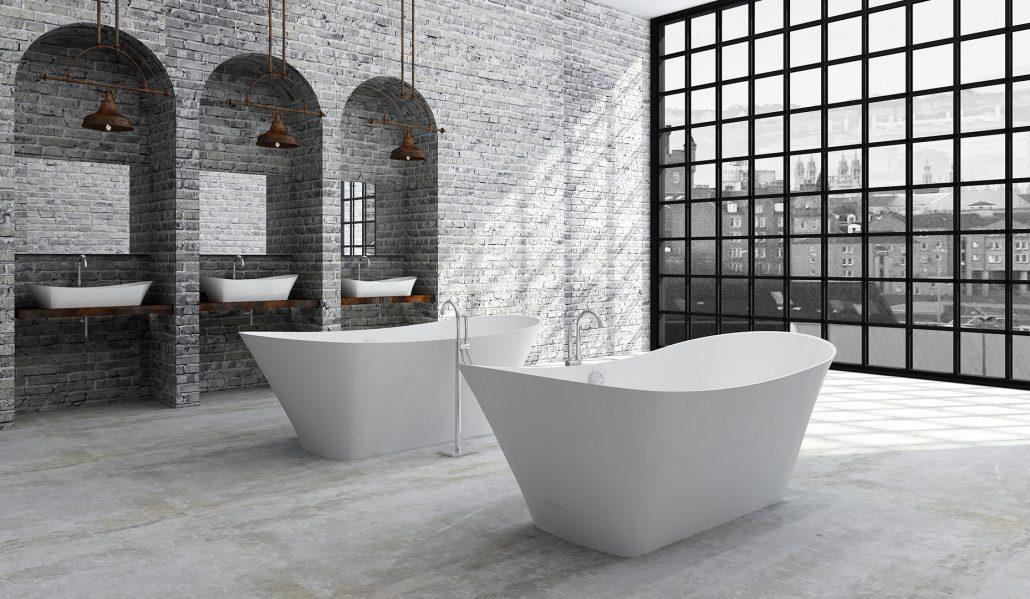 Freestanding bathtub Belisana, Ванна из каменной массы Belisana, Stone cast bathtub Belisana