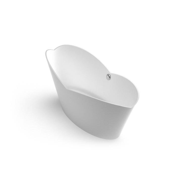 brīvi stāvoša vanna Cupido, Ванна из каменной массы Cupido, Freestanding bath Cupido iso