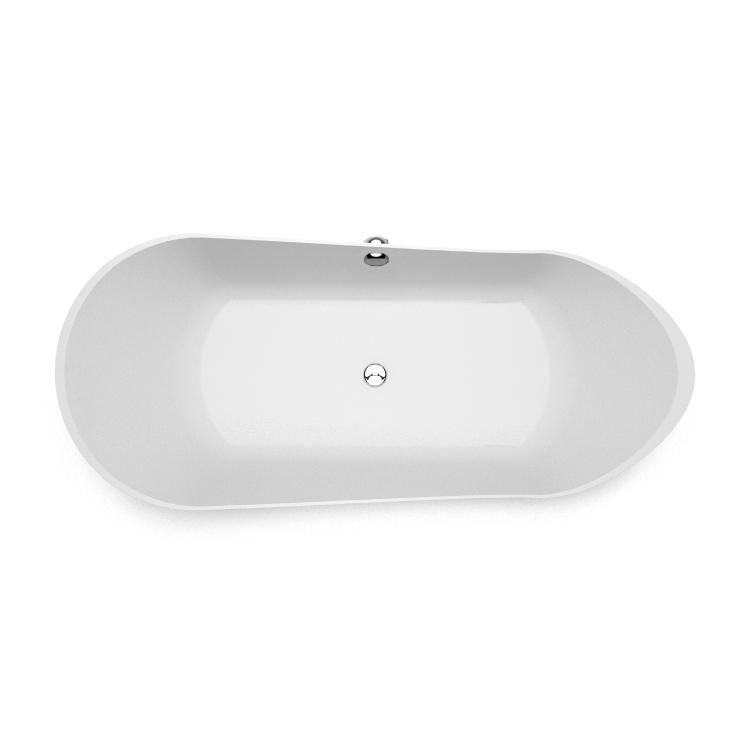 Brīvi stāvoša vanna Kami, Freestanding bath Kami 1 top