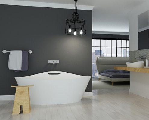 brīvi stāvoša vanna Iris