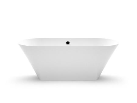Akmens masas vanna Ornea, Ванна из каменной массы Ornea, Stone cast bathtub Ornea
