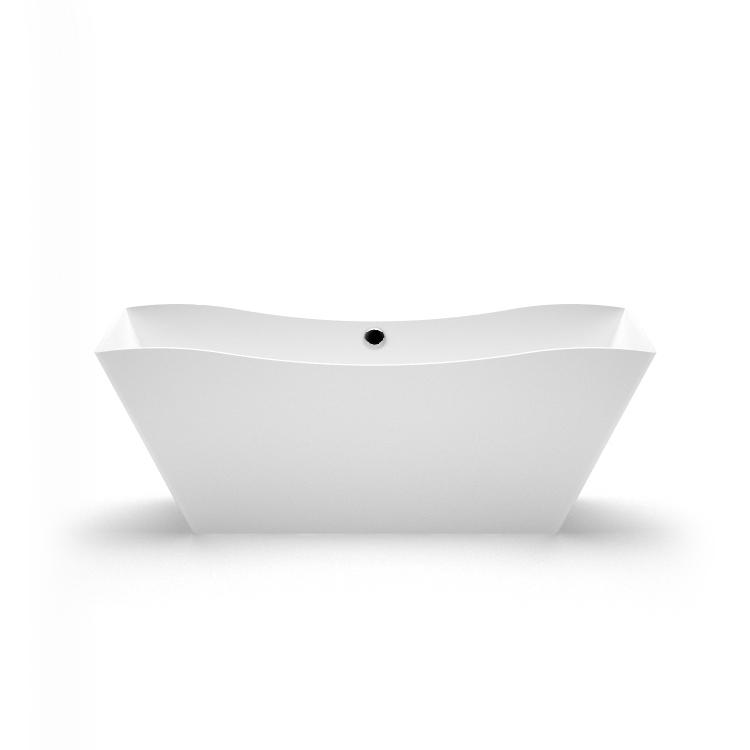 Brīvi stāvoša vanna Eudore, Ванна из каменной массы Eudore, Stone cast bath Eudore