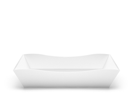 Stone cast washbasin Eudore