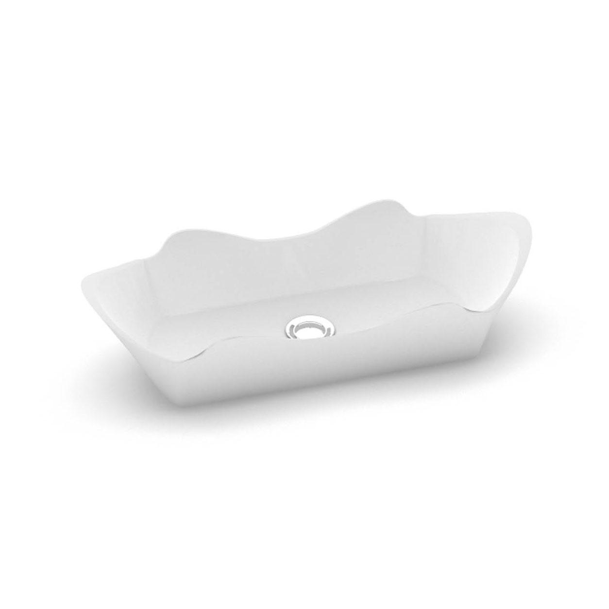 Stone cast washbasin Eracura iso