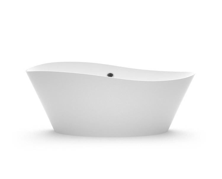 Brīvi stāvoša vanna Luxovio fr, Ванна из каменной массы Luxovio fr, Freestanding bath Luxovio fr