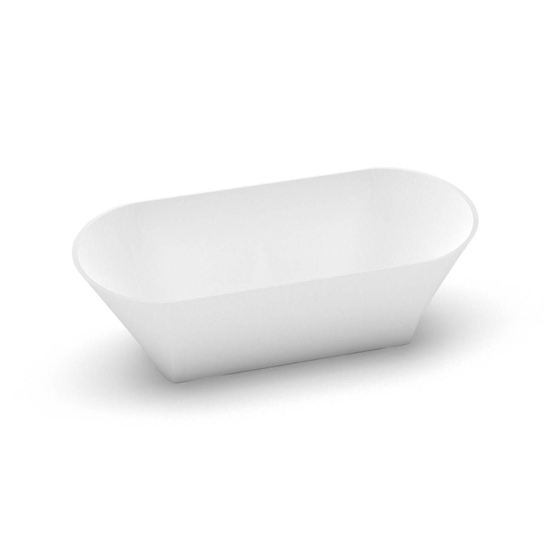 Akmens masas izlietne Ornea 1, Stone cast washbasin Ornea 1 iso