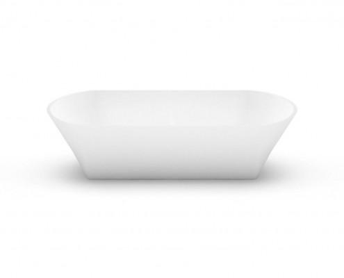 Akmens masas izlietne Ornea 2, Stone cast washbasin Ornea 2 fr