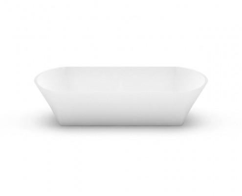 Akmens masas izlietne Ornea 3, Stone cast washbasin Ornea 3 fr
