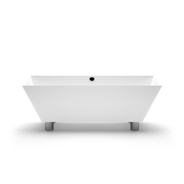 Brīvi stāvoša vanna Doride, Ванна из каменной массы Doride, Stone cast bath Doride