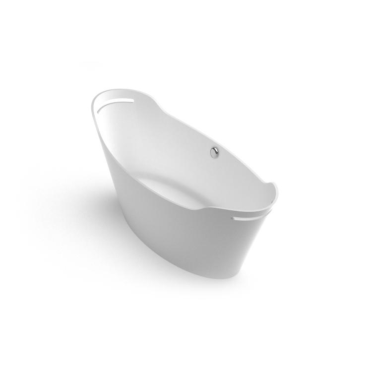 Brīvi stāvoša vanna Tiche, freestanding bath Tiche 1 iso