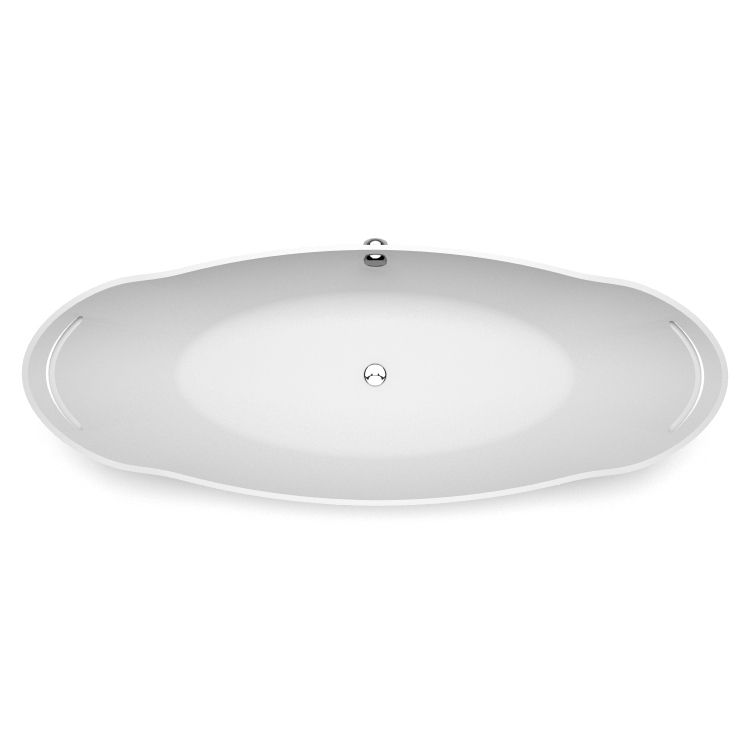 Akmens masas vanna Tiche 2 top, Ванна из каменной массы Tiche 2 top, Stone cast bath Tiche 2 top