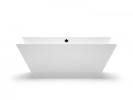 Brīvi stāvoša vanna Erunna, Ванна из каменной массы Erunna, Stone cast bathtub Erunna