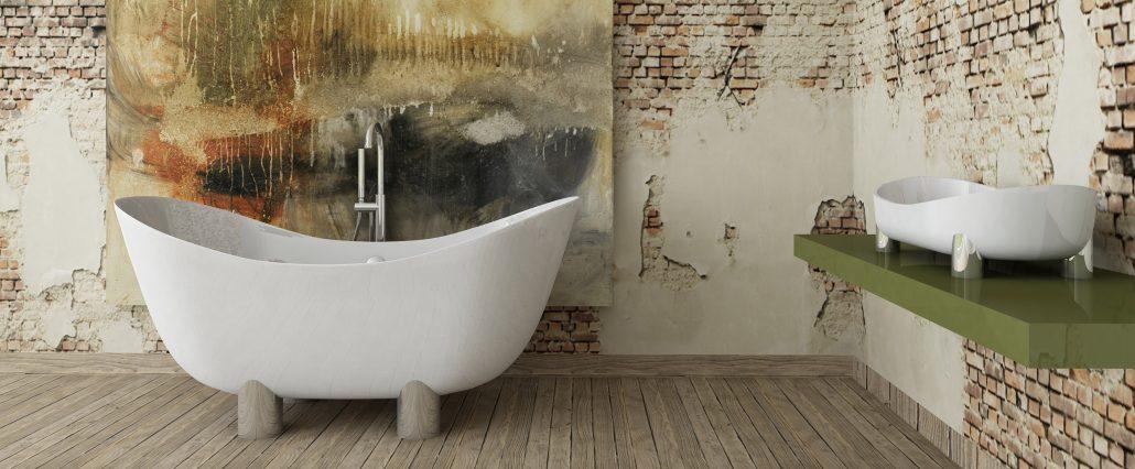 brīvi stāvoša vanna Damona
