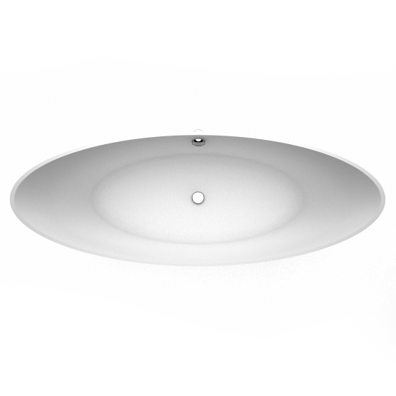 Freestanding bath Talia top